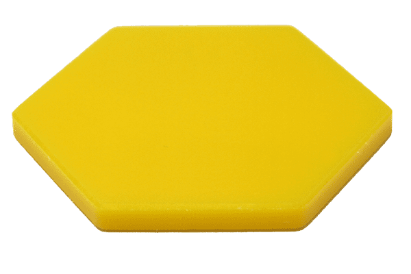 UHMW Colored Virgin Bright Yellow
